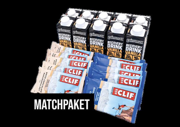 Matchpaket - Gainomax Recovery & Clif