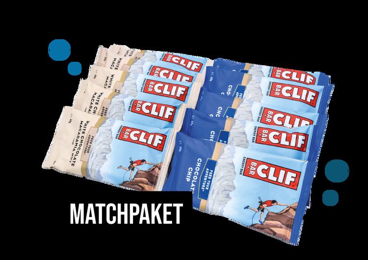 Matchpaket - Clif Energy Bars