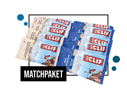 Matchpaket - Clif Energy Bars