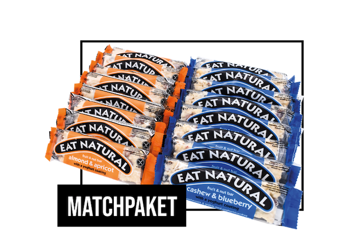 Matchpaket - Eat Natural bars