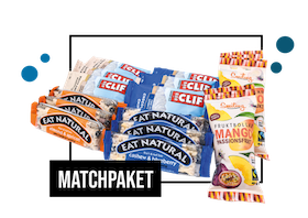 Matchpaket - Clif, Eat Natural & Smiling Fruktbollar