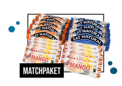 Matchpaket - Eat Natural & Smiling Mangobar