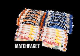 Matchpaket - Eat Natural & Smiling Mangobar