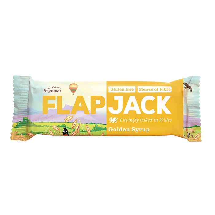 20 x Wholebake Flapjack - Golden Syrup