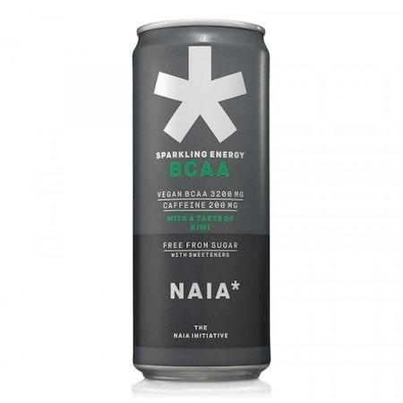 12 x Naia* Sparkling Energy BCAA - Kiwi 330 ml