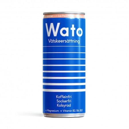 24 x Wato vätskeersättning - Ice Peach 330 ml