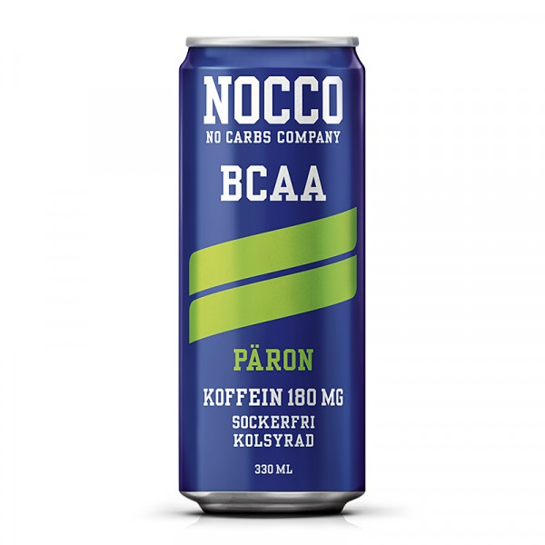 24 x NOCCO BCAA - Päron 330 ml