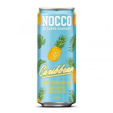 24 x NOCCO BCAA - Caribbean 330 ml