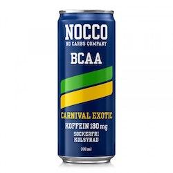 24 x NOCCO BCAA - Carnival 330 ml
