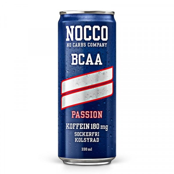 24 x NOCCO BCAA - Passion 330 ml