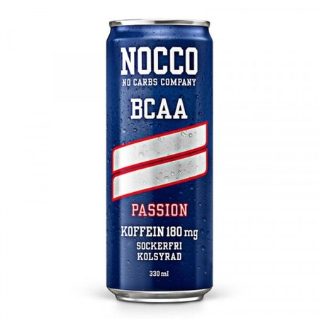 24 x NOCCO BCAA - Passion 330 ml