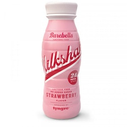 8 x Barebells Protein Milkshake - Strawberry 330 ml