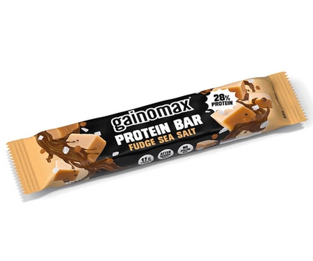 15 x Gainomax Protein Bar - Fudge Sea Salt 60 g