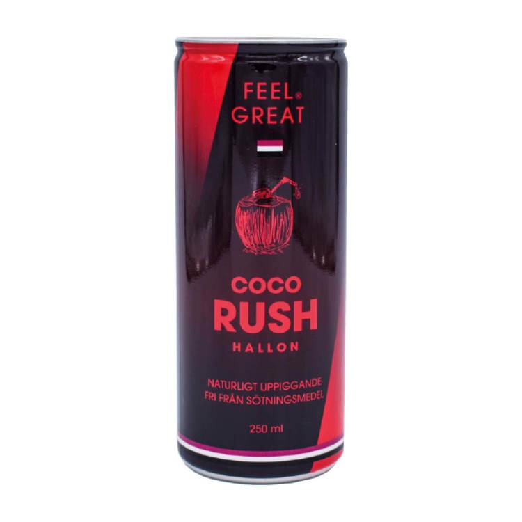 "12 X Feel Great Coco ""Rush"" - Hallon 250 ml"