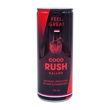 "12 X Feel Great Coco ""Rush"" - Hallon 250 ml"