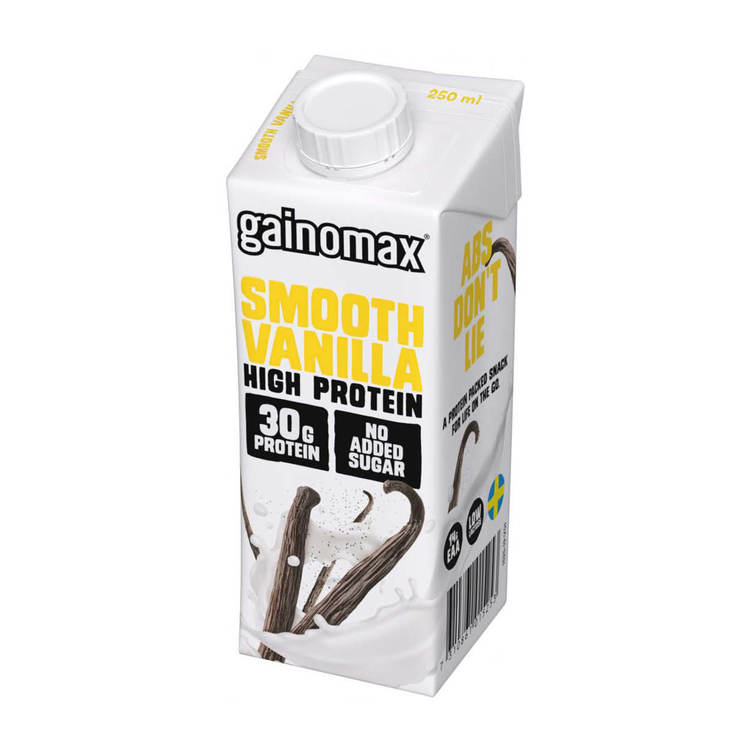 16 x Gainomax High Protein Drink - Smooth Vanilla 250 ml