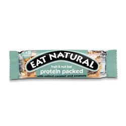 12 x Eat Natural Protein Packed - Salted Caramel 45 g