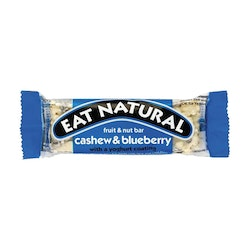 12 x Eat Natural - Cashew & Blueberry 45 g