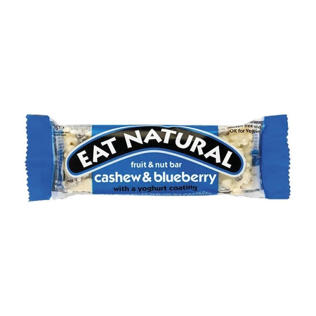 12 x Eat Natural - Cashew & Blueberry 45 g