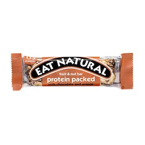 12 x Eat Natural Protein Packed - Chocolate & Orange 45 g