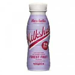 8 x Barebells Protein Milkshake - Forest Fruit 330 ml
