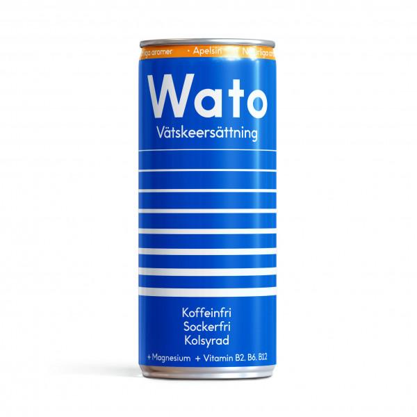 24 x Wato vätskeersättning - Apelsin 330 ml