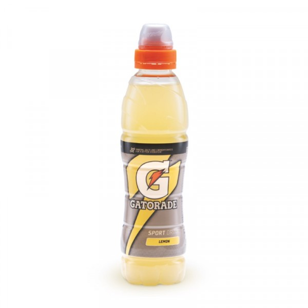 12 x Gatorade - Lemon 500 ml