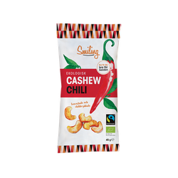 20 x Smiling Cashew - Chili 45 g