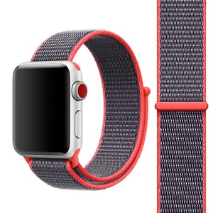 42 & 44 mm armband för Apple Watch i nylon (Magenta)
