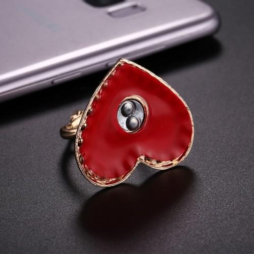 Mobilhållare Hjärtformad med ring
