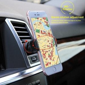 Smidig mobilhållare till bilen