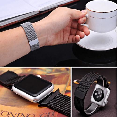 Armband 42mm och 44 mm till Apple Watch Milanese Loop