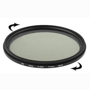 77 mm ND-Filter variabelt mellan 2-400
