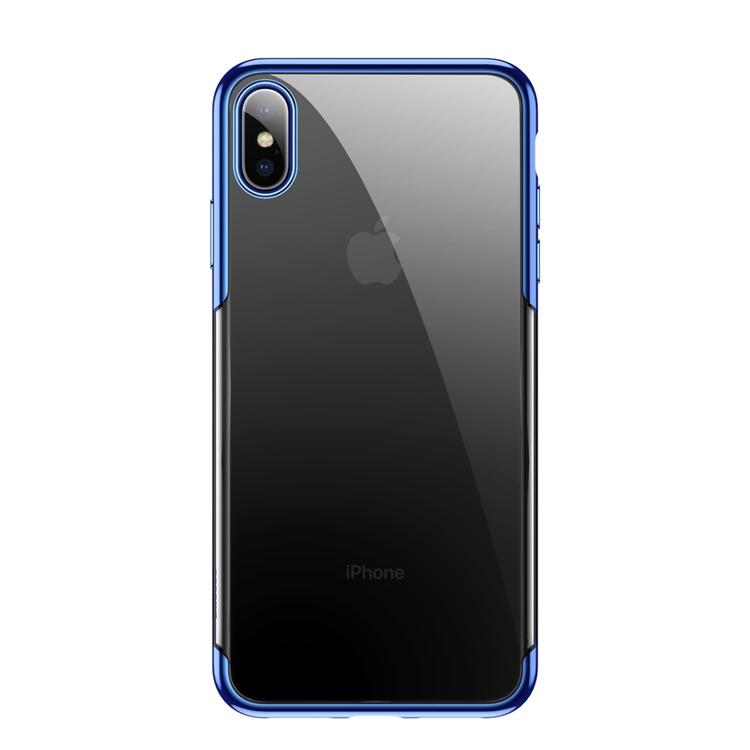 Ultratunnt skydd till iPhone XS Max Blå