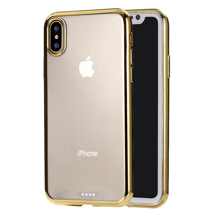 Ultratunnt skydd till iPhone XS Max Guld