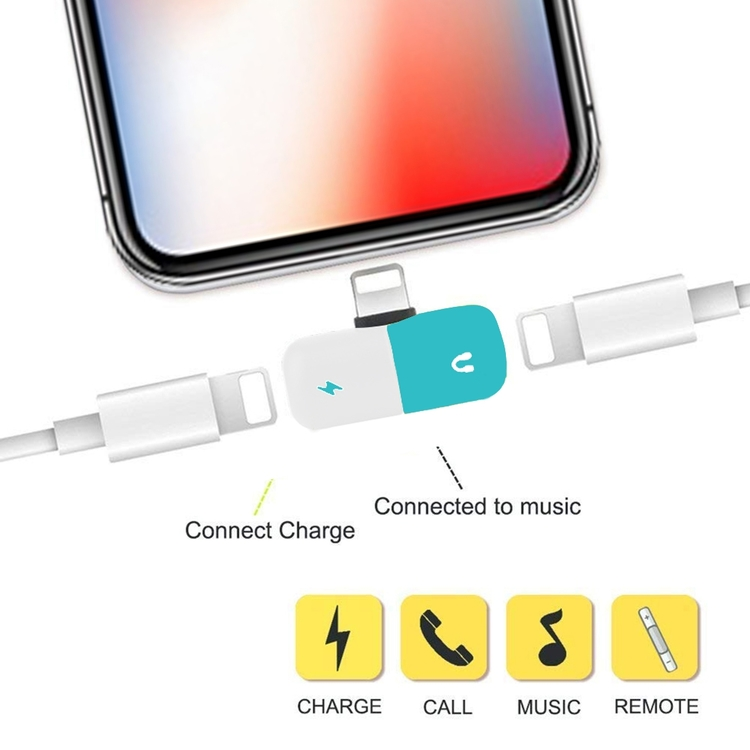 iPhone Adapter 2-in-1