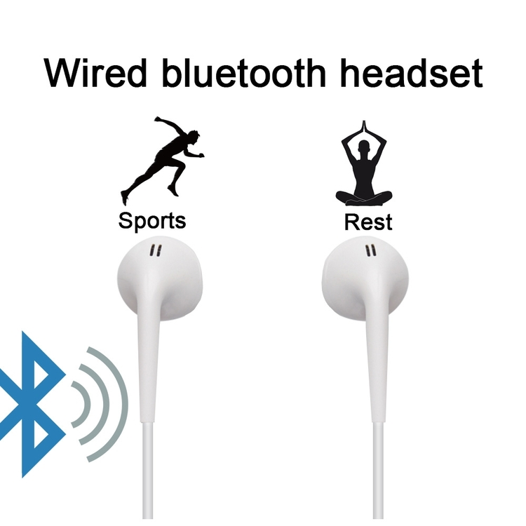 Sportiga bluetooth hörlurar till Android och IOS