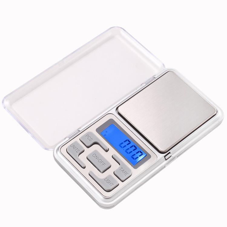 Digital våg med 0.01 grams noggranhet