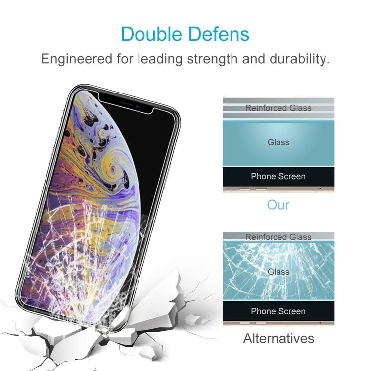iPhone XS Max Skärmskydd av härdat glas