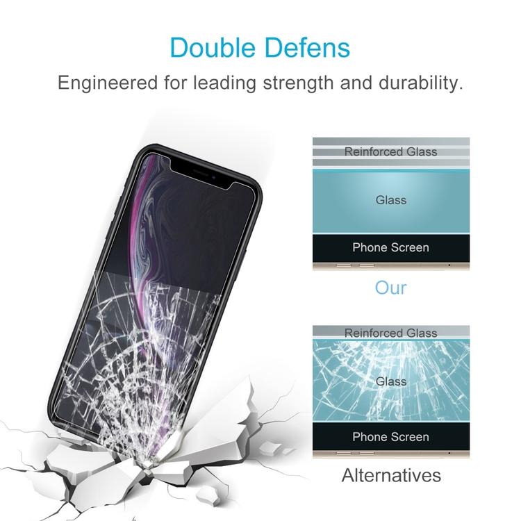 iPhone XR skärmskydd av härdat glas