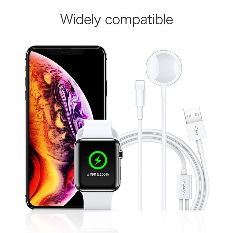 multifunktionsladdare iPhone och Apple Watch