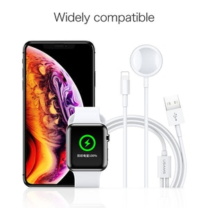 Ladda Apple Watch och iPhone samtidigt