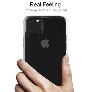Transparent silikonskal till iPhone 11