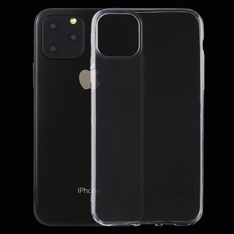 Transparent silikonskal till iPhone 11