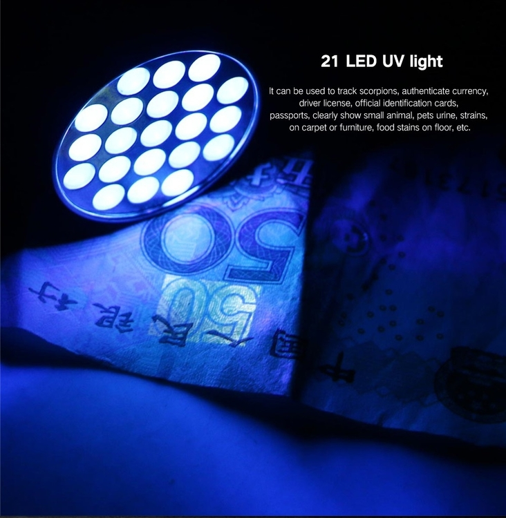 UV-Lampa i fickformat