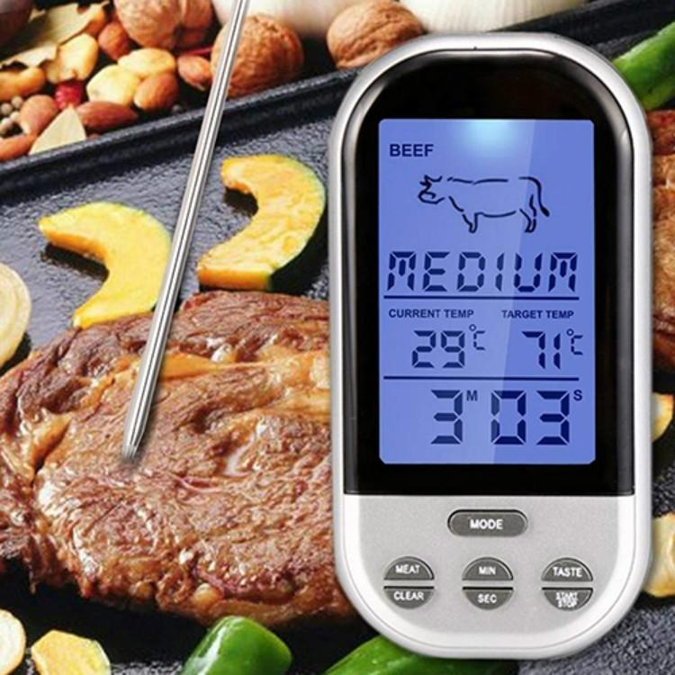 Digital Kökstermometer med tydlig display