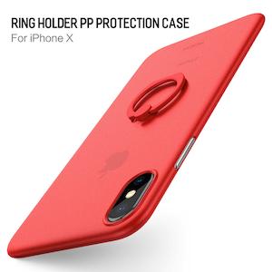 Snyggt skal till iPhone X / XS med ring