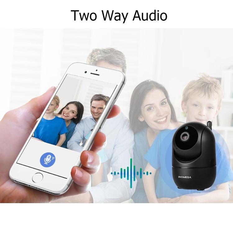 Övervakningskamera, ipkamera, wifi kamera, trådlös kamera