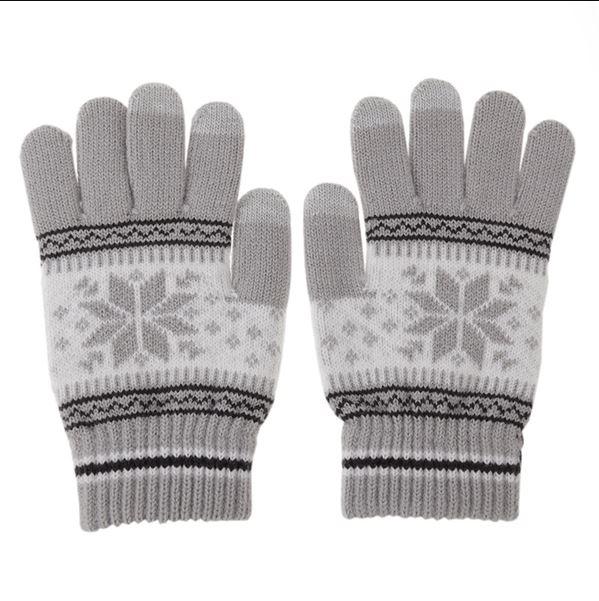 Touch vantar / Handskar gråvita