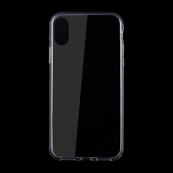 Transparent silikonskal till iPhone X